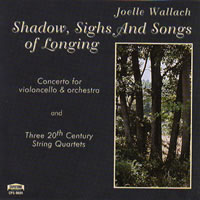Shadow, Sighs and Songs of Longing CD jacket